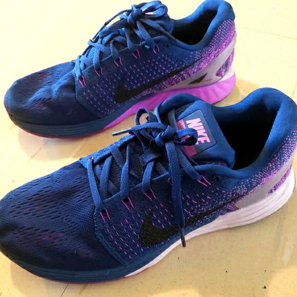 Nike Lunarlon women's running shoes US size 9